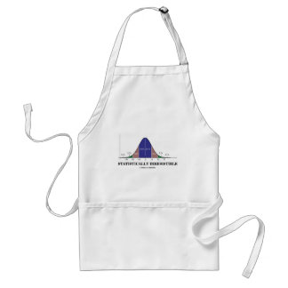 Statistically Irresistible (Stats Humor) Adult Apron