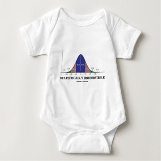 Statistically Irresistible (Stats Humor) Baby Bodysuit
