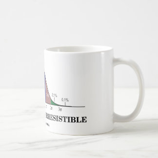 Statistically Irresistible (Stats Humor) Classic White Coffee Mug