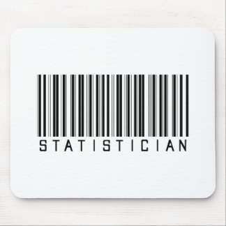 Statistician Bar Code Mouse Pad