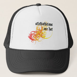 Statisticians Are Hot Trucker Hat