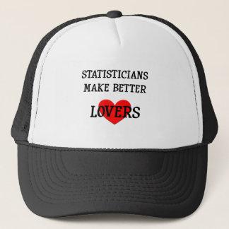 Statisticians Make Better Lovers Hat