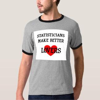 Statisticians Make Better Lovers T-Shirt