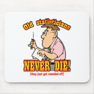 Statisticians Mouse Pad