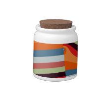 statistics- abstract candy jar