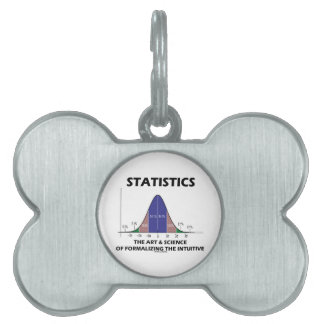 Statistics Art Science Of Formalizing Intuitive Pet Name Tag