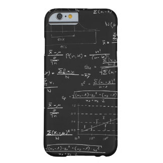 Statistics blackboard barely there iPhone 6 case