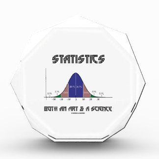 Statistics Both An Art & A Science (Bell Curve) Award