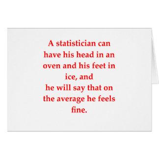 statistics card
