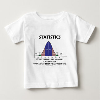 Statistics If You Torture The Numbers Long Enough Baby T-Shirt