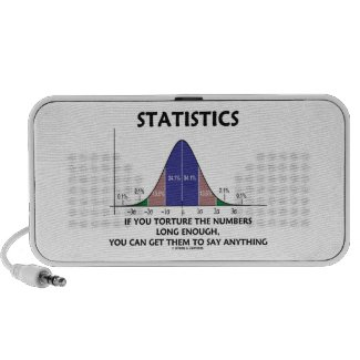 Statistics If You Torture The Numbers Long Enough iPhone Speakers