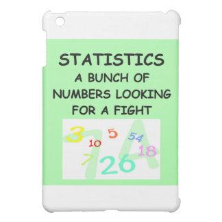 statistics iPad mini cases