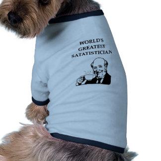 statistics joke pet t-shirt