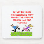 statistics joke mouse pads