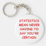 statistics keychains