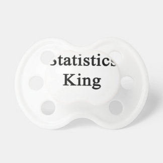 Statistics King Pacifier
