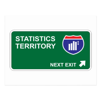 Statistics Next Exit Postcard