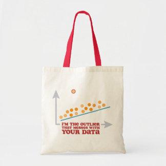 Statistics Outlier Budget Tote Bag