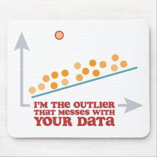Statistics Outlier Mousepad