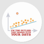 Statistics Outlier Stickers