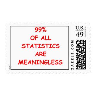 statistics stamp