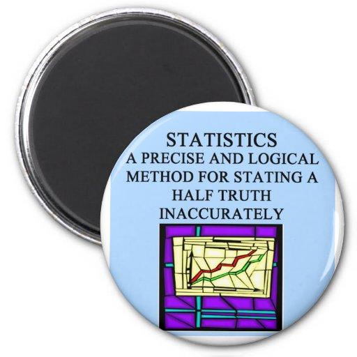 STATISTICS statistician humor Magnet