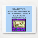 STATISTICS statistician humor Mouse Mat