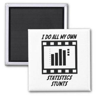 Statistics Stunts Magnet