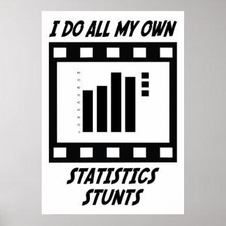 Statistics Stunts Print