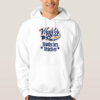 Statistics Teacher Gift For (Worlds Best) Hoodie