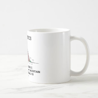 Statistics The Art & Science Of Finding Out Quote Coffee Mug