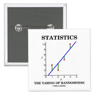 Statistics The Taming Of Randomness (Stats Humor) Pin