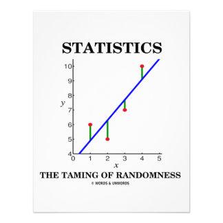 Statistics The Taming Of Randomness (Stats Humor) Personalized Invite