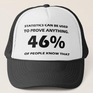 Statistics Trucker Hat
