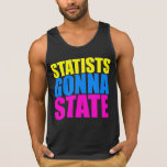 Statists que van a indicar el tanque - camiseta de
