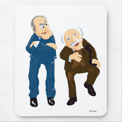 Statler and Waldorf Disney Mouse Pads