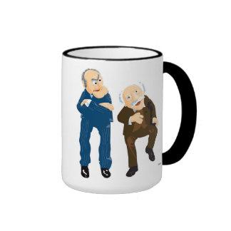Statler and Waldorf Disney Ringer Coffee Mug