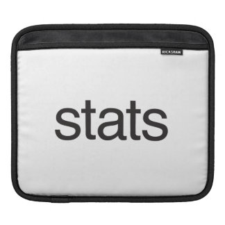 stats.ai sleeve for iPads