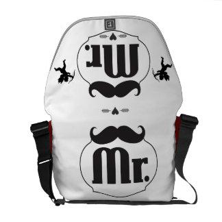 Stats del bebé de Sr. Mustache Lil Man Bolsas De Mensajeria