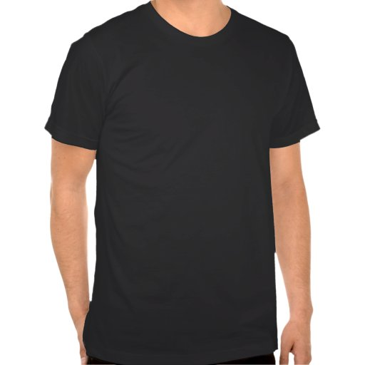 Stats rizado del carácter camiseta