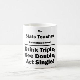 stats teacher coffee mug