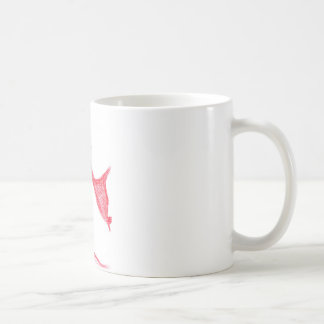 Statua Pallid Red Classic White Coffee Mug