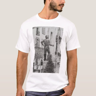 Statue at Cannet 2014 T-Shirt
