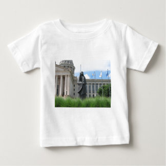Statue At Oklahoma State Capital Baby T-Shirt