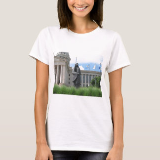 Statue At Oklahoma State Capital T-Shirt