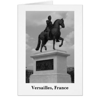 Statue at Versailles (Blank) Stationery Note Card