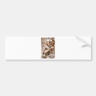 Statue Bumper Sticker