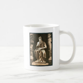 "Statue by Michael Angelo, ""The Seated Moses"", Rome Mugs"