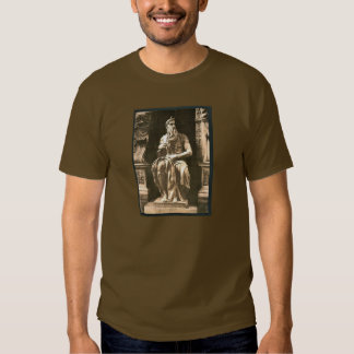 "Statue by Michael Angelo, ""The Seated Moses"", Rome T Shirt"