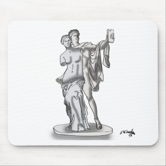 Statue Cartoon 9417 Mouse Pad